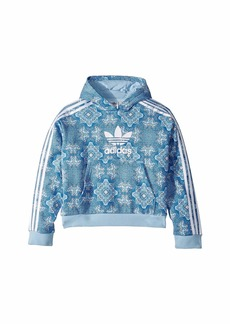 Adidas Clear Sky Crop Hoodie (Little Kids/Big Kids)
