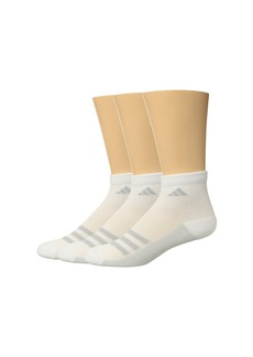 Adidas Climacool® Superlite Stripe Quarter Socks 3-Pack