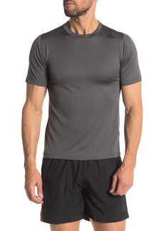 Adidas Climalite 3-Stripe Perforated Short Sleeve T-Shirt