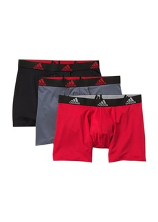 Adidas Climalite Boxer Briefs - Pack of 3