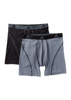 Adidas Climalite Performance Boxer Briefs - Pack of 2