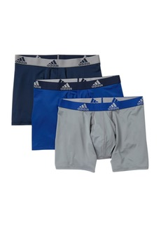 Adidas Climalite Performance Boxer Briefs - Pack of 3