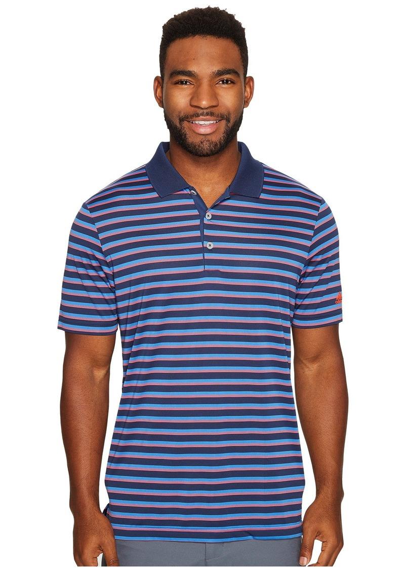 Adidas Club Merch Stripe Polo