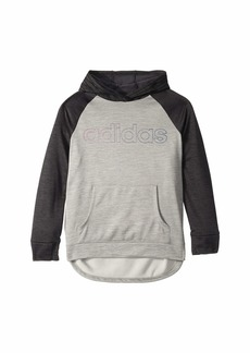 Adidas Color Block Hooded Sweatshirt (Big Kids)