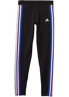 Adidas Color-Block Stripe Tights (Big Kids)