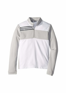 Adidas Color Blocked Half Zip Layer (Little Kids/Big Kids)