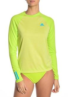 Adidas Colorblock Long Sleeve Rashguard
