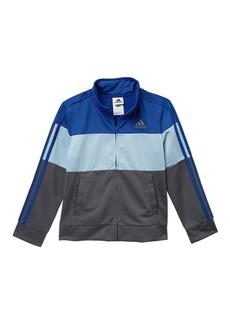 Adidas Colorblock Tricot Jacket (Toddler, Little Boys, & Big Boys)