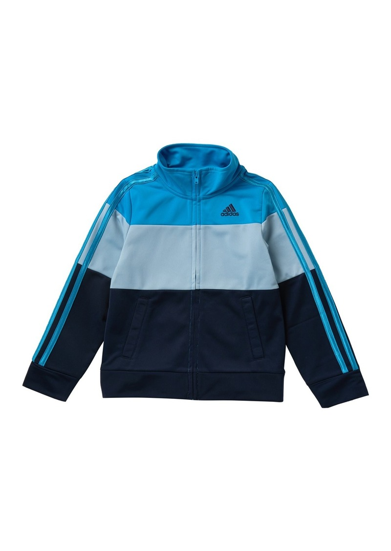 Adidas Colorblock Tricot Jacket (Toddler, Little Boys, & Big Boys)
