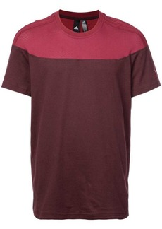 Adidas colour-block T-shirt