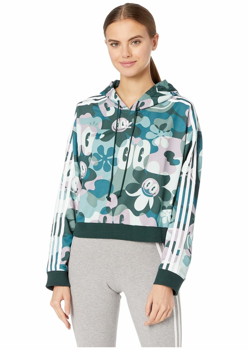 Adidas Contemporary Cropped Hoodie