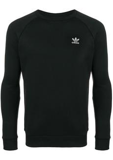 Adidas contrast logo sweatshirt