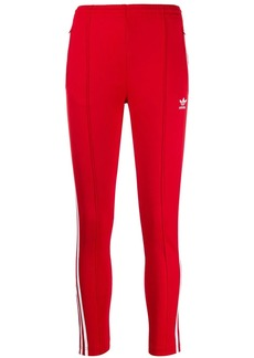 Adidas contrast logo trousers