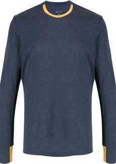 Adidas contrast trim jumper