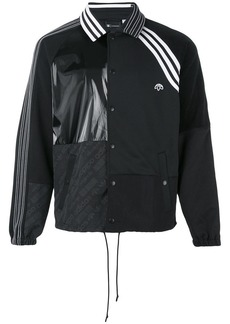 Adidas contrasting panel logo jacket