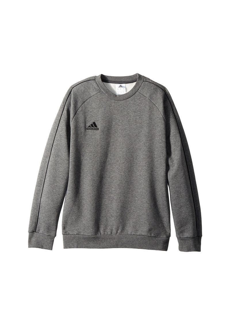 Adidas Core 18 Sweatshirt Top (Little Kids/Big Kids)