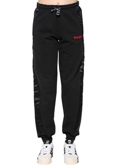 Adidas Cotton & Satin Sweatpants
