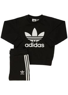 Adidas Cotton Sweatshirt & Sweatpants