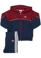 Adidas Cotton Sweatshirt Hoodie & Sweatpants
