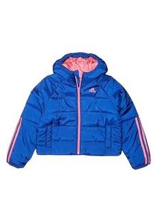 Adidas Crop Waist Puffer Jacket (Big Kids)