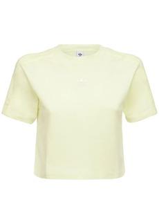 Adidas Cropped Cotton T-shirt