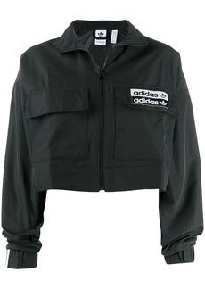 Adidas cropped sports jacket