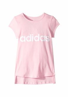 Adidas Curved Hem Tee (Big Kids)