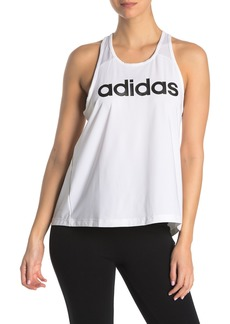 Adidas D2M Mesh Logo Tank Top