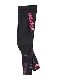 Adidas D2M Printed Tights (Big Girls)
