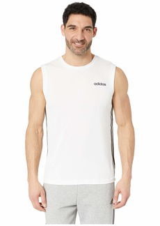 Adidas Designed 2 Move Sleeveless 3-Stripes Top