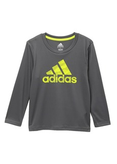 Adidas Dot Camo Logo Climalite(R) T-Shirt (Toddler Boys & Little Boys)