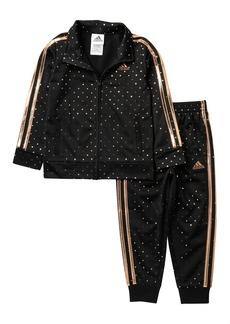 Adidas Dot Tricot Jacket & Pants Set (Baby, Toddler, &