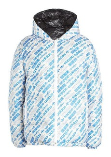 Adidas Double-Sided Down Quilted Puffer Jacket
