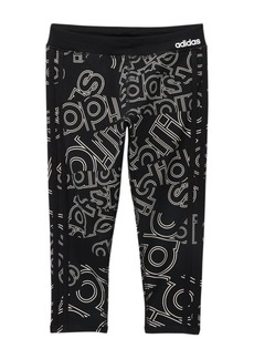 Adidas Double-Up Linear Tights (Big Girls)