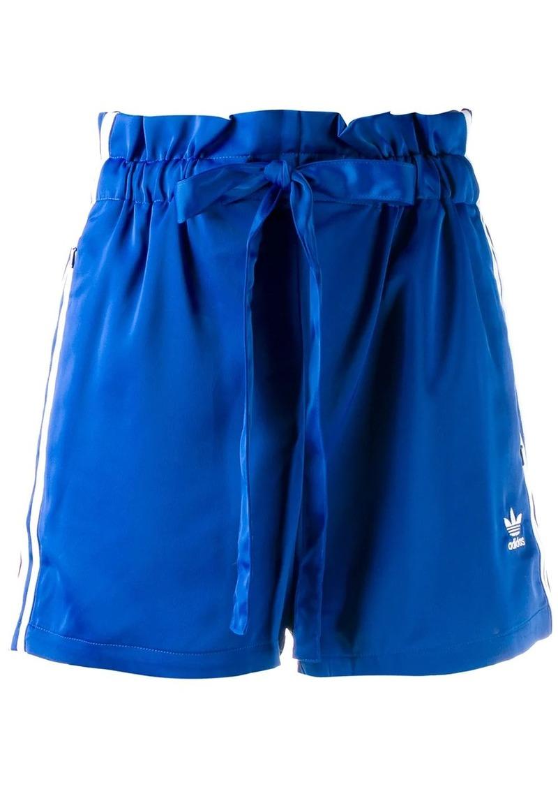 Adidas drawstring logo shorts