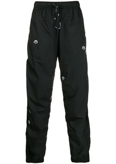 Adidas drop-crotch track trousers