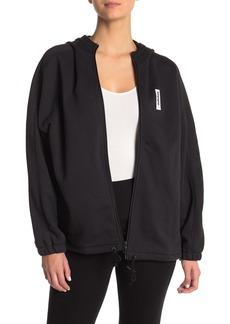 Adidas Drop Shoulder Zip Front Jacket