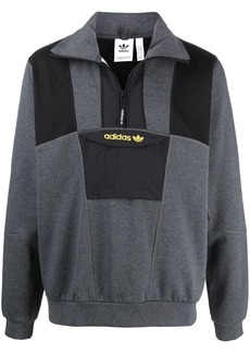 Adidas embroidered logo jumper