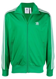 Adidas recycled embroidered-logo track jacket