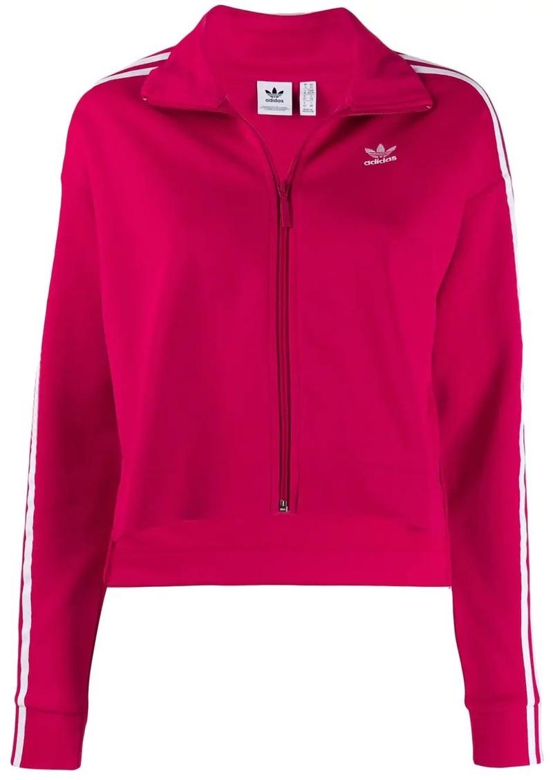 Adidas embroidered logo track jacket