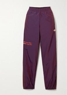 Adidas Embroidered Printed Shell Track Pants