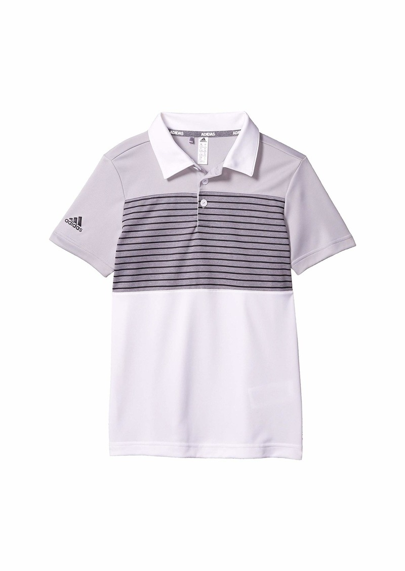 Adidas Engineered Stripe Polo Shirt (Little Kids/Big Kids)