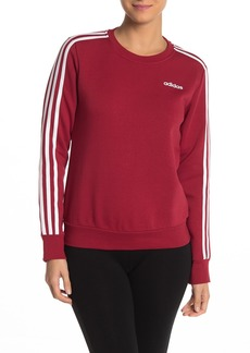 Adidas Essentials 3 Stripes Crew Neck Sweatshirt