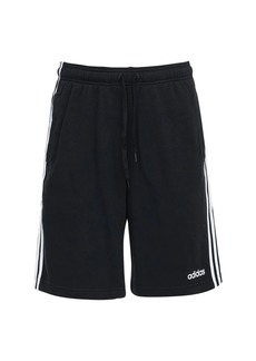 Adidas Essentials 3 Stripes French Terry Shorts