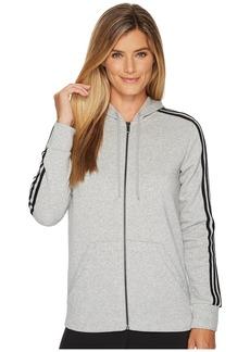Adidas Essentials Cotton Fleece 3S Full Zip Hoodie