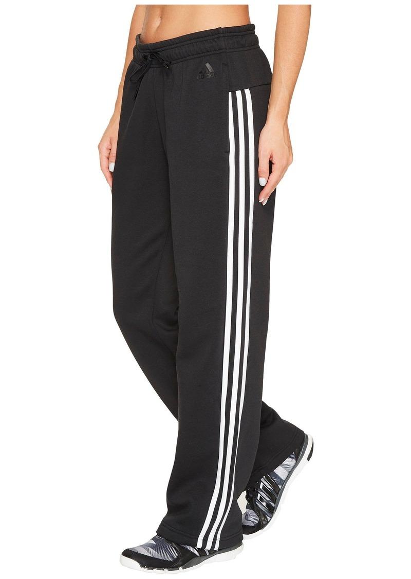 201766344 Adidas Essentials Cotton Fleece 3S Open Hem Pants   Casual Pants