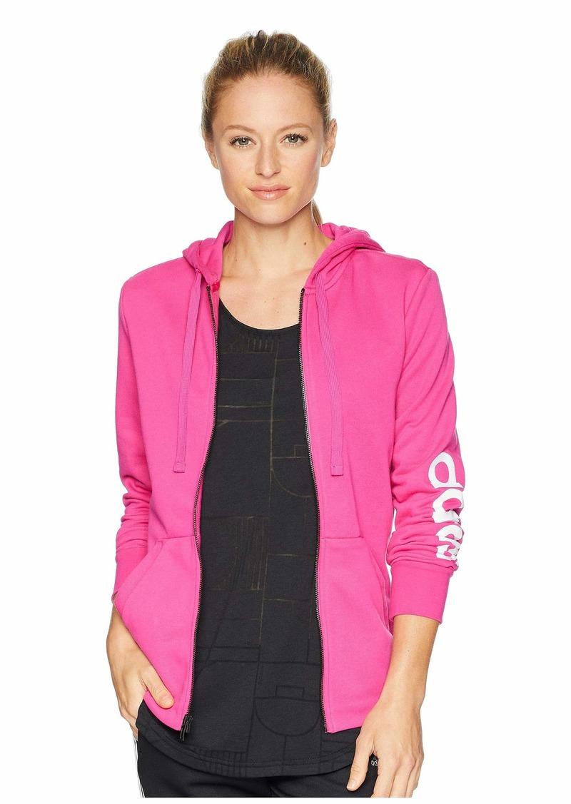 Adidas Essentials Linear Full Zip Hoodie