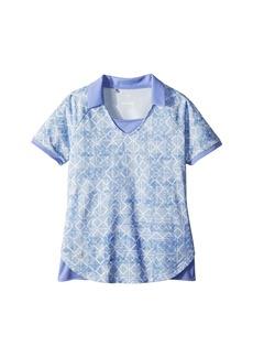 Adidas Fashion Print Short Sleeve Polo (Big Kids)