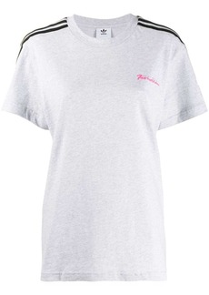 Adidas Fiorucci logo T-shirt