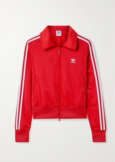 Adidas Firebird Striped Jersey Track Jacket